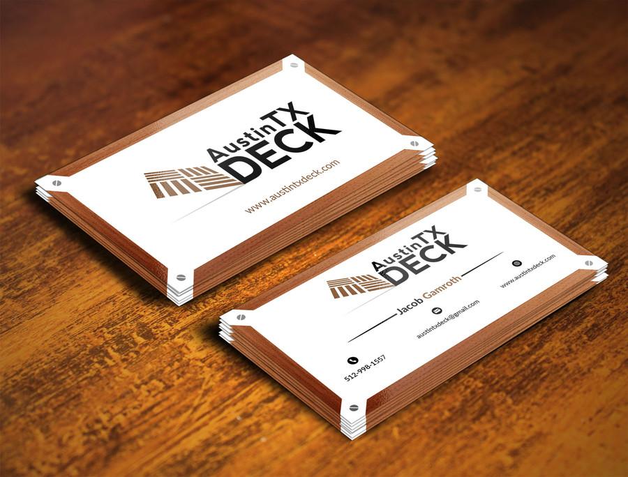 Deck Company Business Cards 17 – Austin Tx Web