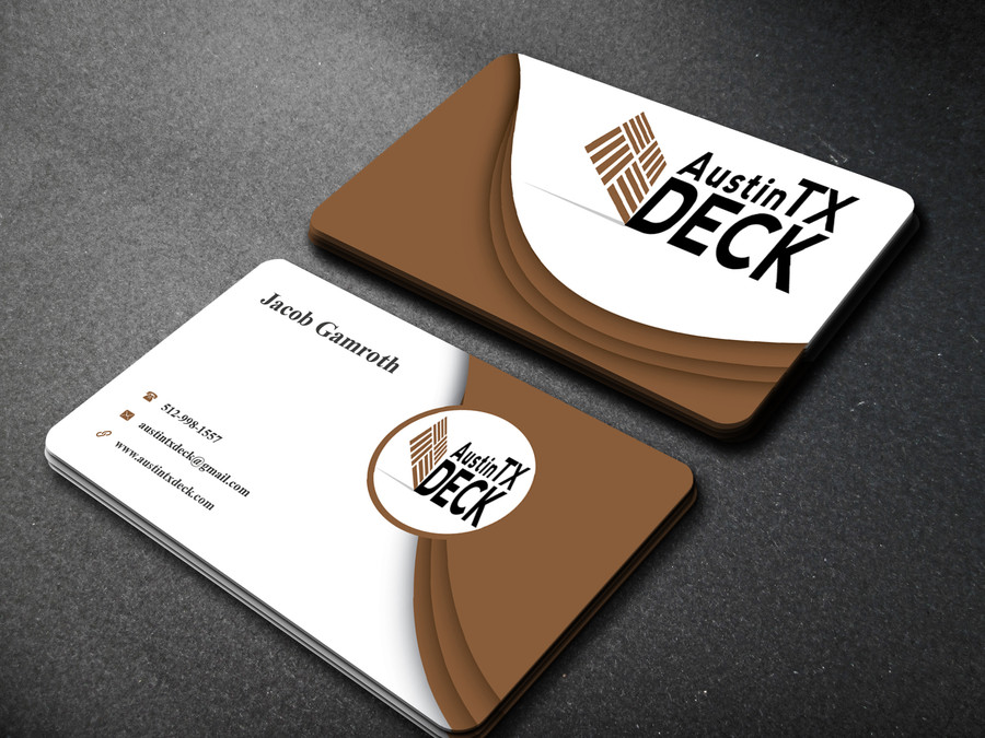 Austin Tx Deck Business Cards – Austin Tx Web