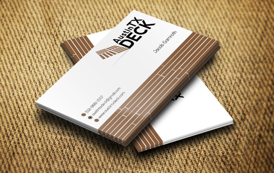 Austin Tx Deck Business Cards – Austin Tx Web