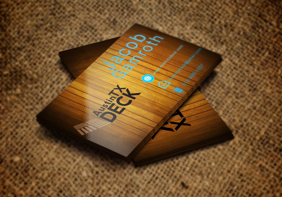 Deck Company Business Cards 7 – Austin Tx Web