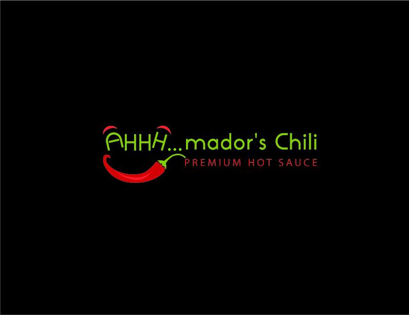 Mador's chili logo_black