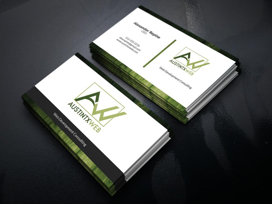 Austin TX Web Business Cards Draft (4) – Austin Tx Web