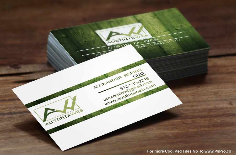 Austin TX Web Business Cards Design – Austin Tx Web
