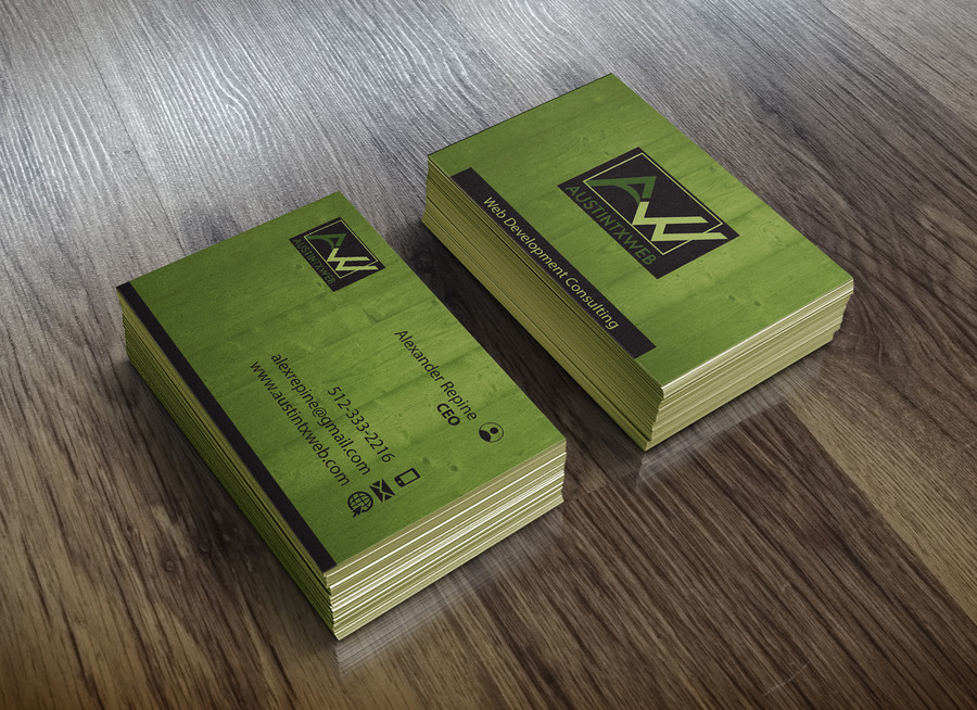 Austin TX Web Business Cards Draft (45) – Austin Tx Web