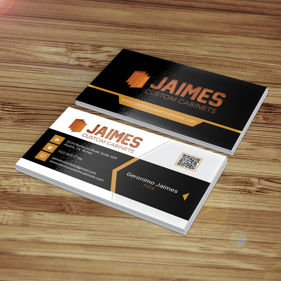 jaimes custom cabinets business cards first draft 12 – austin tx web