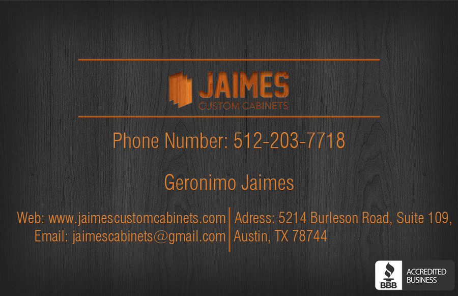 Jaimes Custom Cabinets Business Cards First Draft (4) – Austin Tx Web