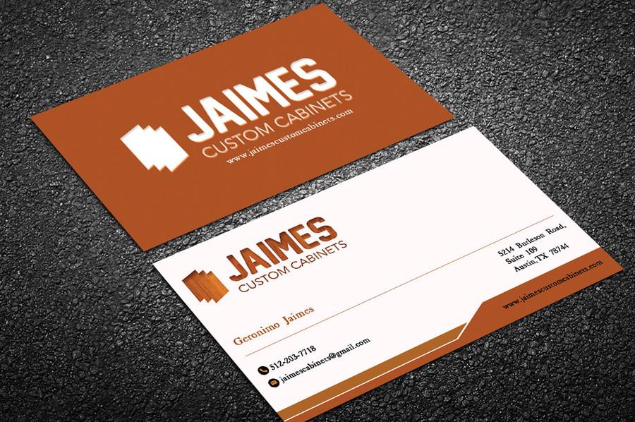 Jaimes Custom Cabinets Business Cards First Draft (7) – Austin Tx Web