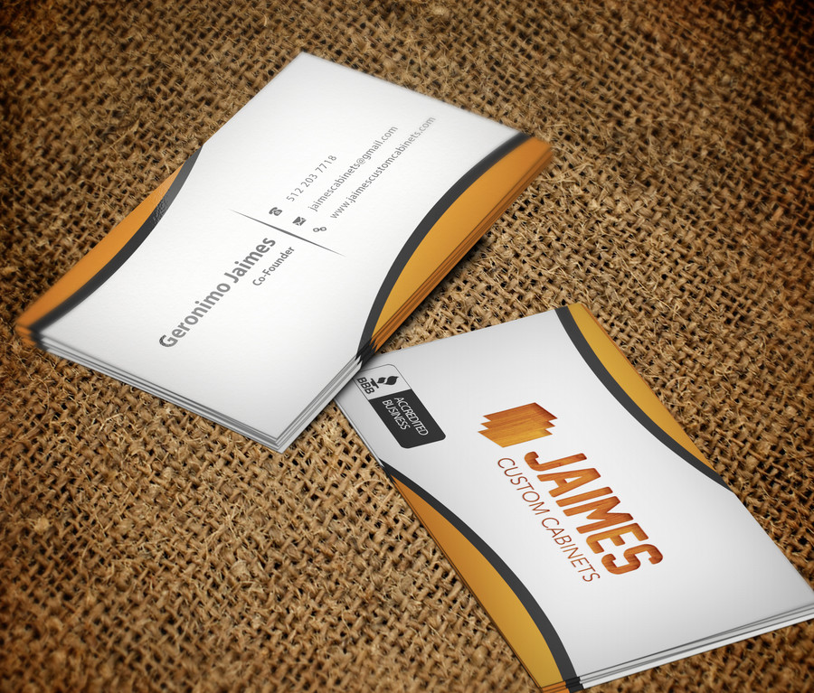Jaimes Custom Cabinets Business Cards First Draft (8) – Austin Tx Web