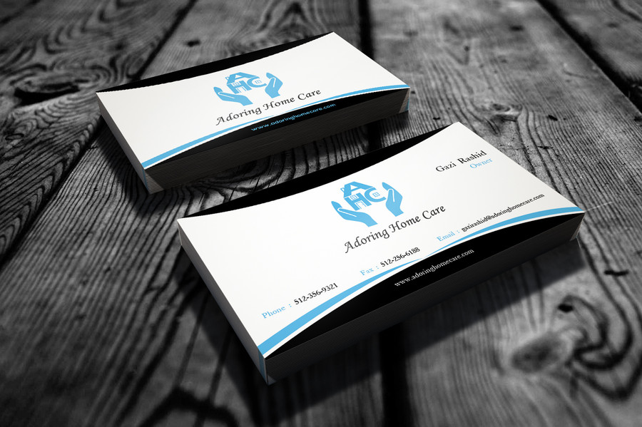 Adoring Home Care Business Cards – Austin Tx Web