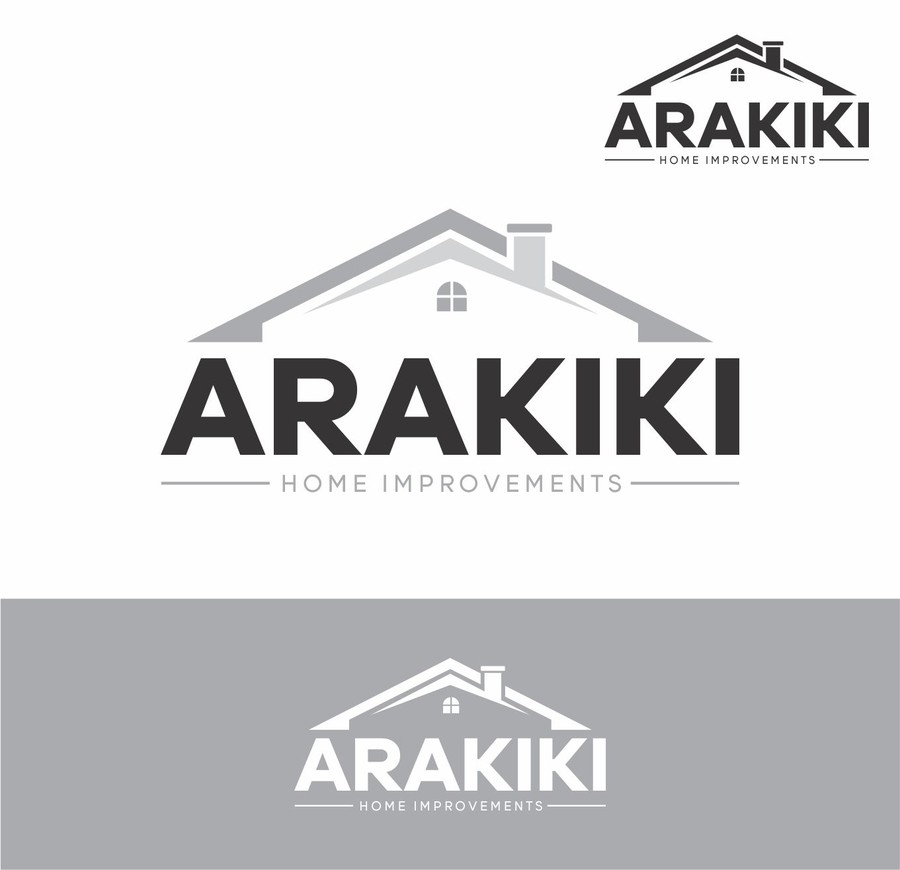 Perfect ... Arakaki Home Improvements Logo Design. Share This Article Part 11