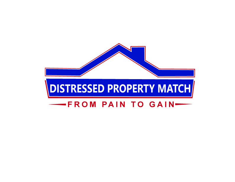 Distressed property match logo