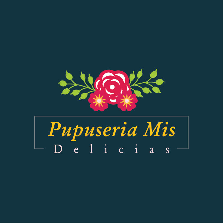 Terrific Pupuseria Mis Delicias Logo Design Austin Tx Web Download Free Architecture Designs Itiscsunscenecom